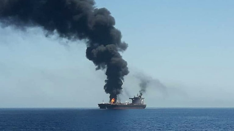Japanese Owner Contradicts U.S. Claims in Iranian Gulf of Oman Tanker 'Attack'