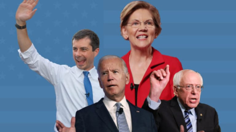 Sanders and Warren Vow to Block War With Iran, Biden and Buttigieg Hedge
