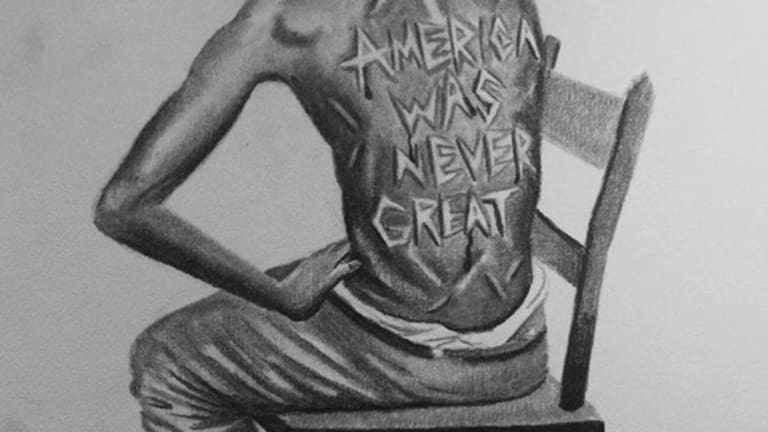 Artist Unknown - 'America Was Never Great'