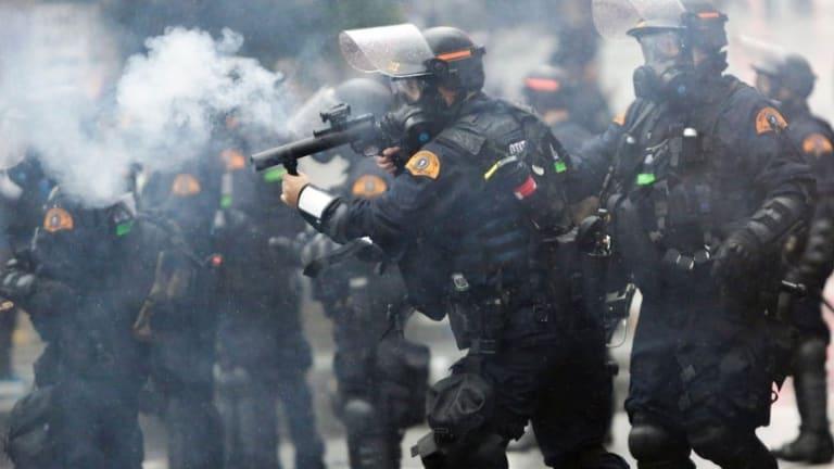 Police Erupt in Violence Nationwide