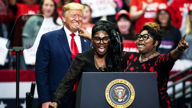 Fox News Gives Diamond & Silk The Bum's Rush...Right Out The Door