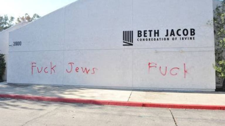 Synagogue Vandalized Today
