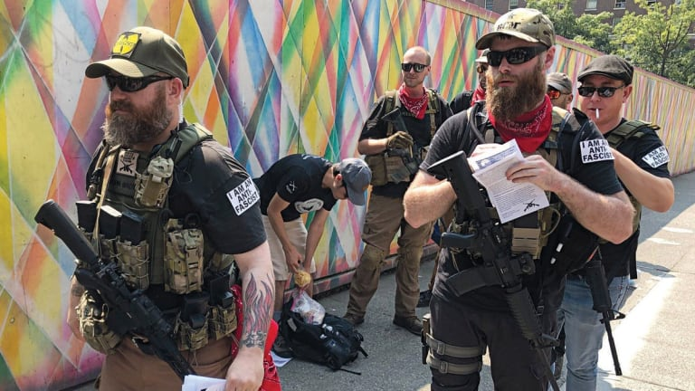 Antifa Is Arming Itself Against a Trump Crackdown