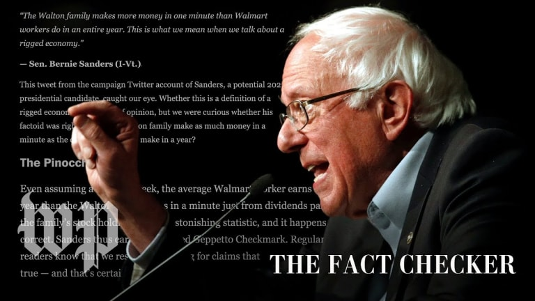 Do the Waltons earn more in a minute than Walmart workers do in a year? Yes