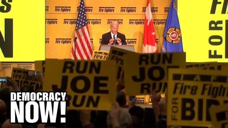 Democracy Now!: A Look at Joe Biden's Disastrous Legislative Legacy