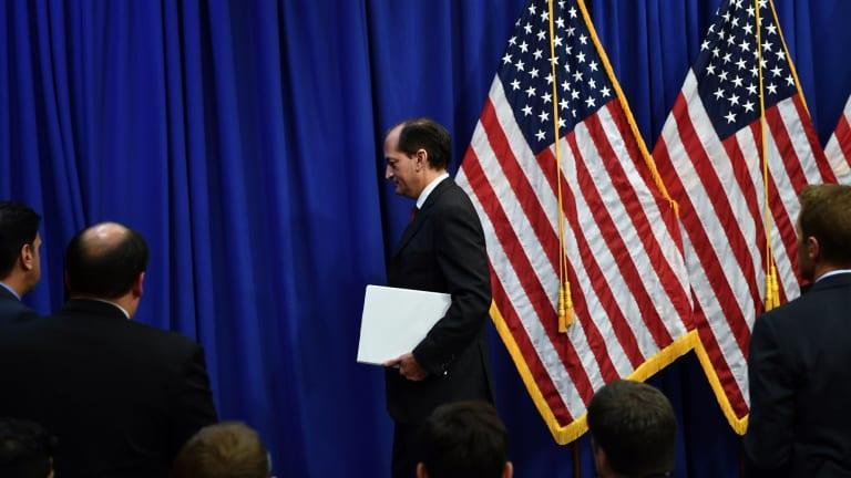 Trump Labor Secretary Acosta resigns after criticism over Epstein plea deal