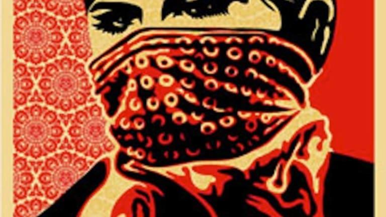 Zapatista Woman, by Shepard Fairey