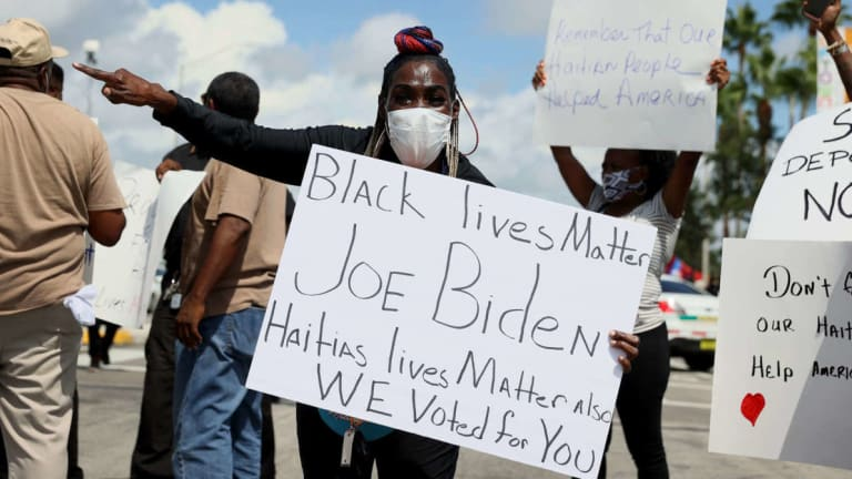 Biden's Trump-like Deportation of Haitians is Illegal and Racist