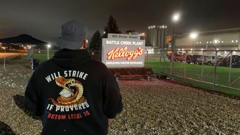 Kellogg Workers Strike