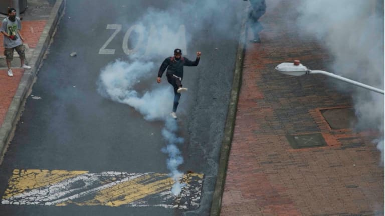 Colombia's National Strike: An On-the-Ground Report from Bogotá
