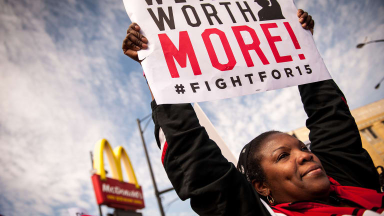 Pay a Living Wage or 'Flip Your Own Damn Burgers'