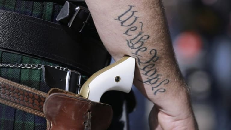 America's gun obsession is rooted in slavery