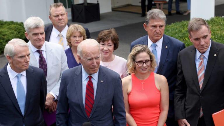 Infrastructure Bill: Democrats Are Wasting Time Seeking 'Bi-Partisanship'