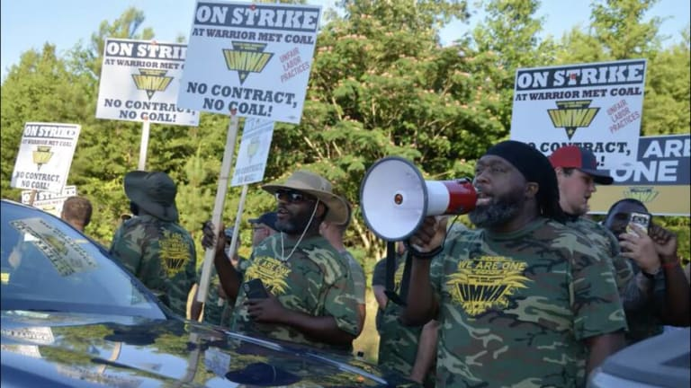 Alabama Coal Miners Mean Business in Their Strike