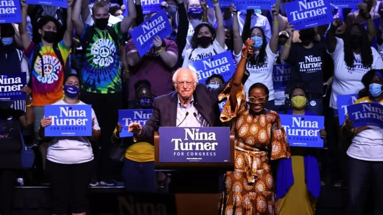 Bernie Sanders Rallies Voters For Nina Turner