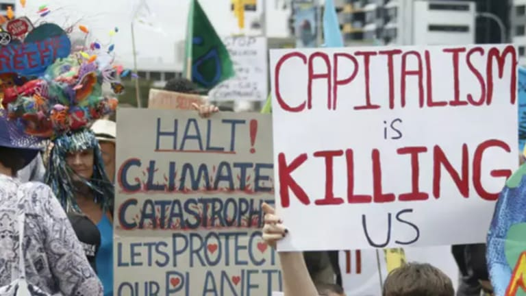 Capitalism is the Disease, Climate Change is a Symptom
