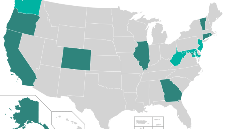States are pursuing voting rights