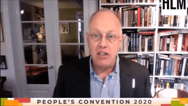 """Chris Hedges: """"The Oligarchs Prefer Biden Over Trump, But They Can Live With Either"""""""