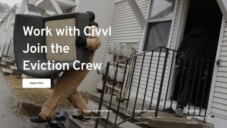 End Stage Capitalism: Civvl The New App That Gigs Out Eviction Crews