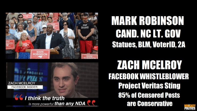 Ep. 245 - The Candidate & The Whistleblower: NC's Lt. Governor Mark Robinson & Facebook Insider Zach McElroy
