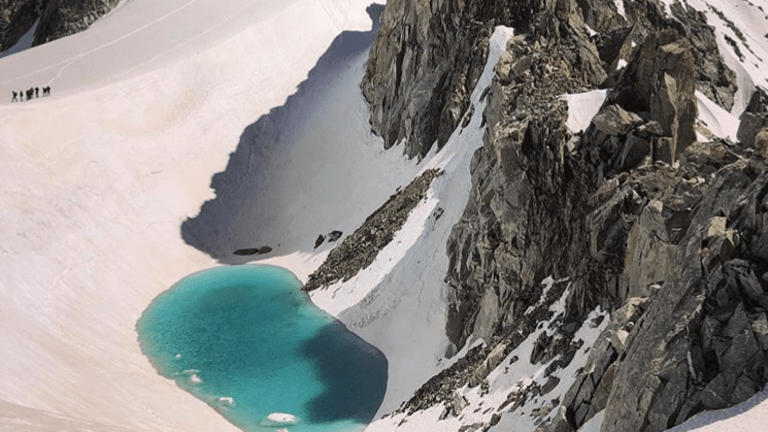 Climate change: Lake Discovered at 11K ft. in The Alps is Alarming