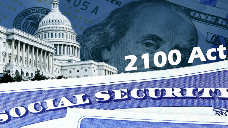 The Social Security Act 2100: A Proposal to Protect America's Elderly