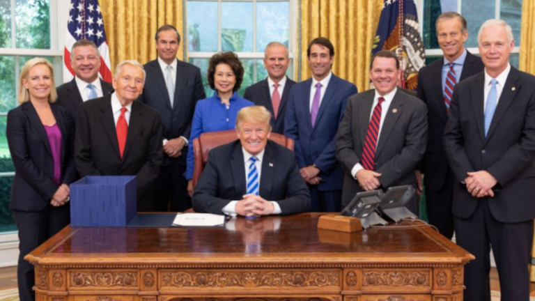 Not Draining The Swamp: Trump Now Has 4 Lobbyists Serving in His Cabinet