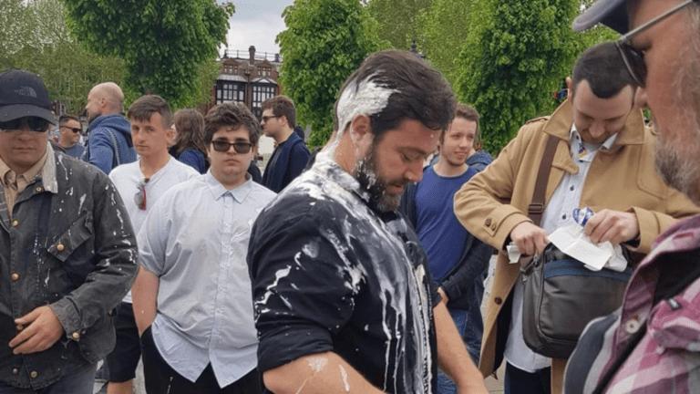 Milkshaking - The New Nazi/Fascist Punching That's Sweeping Europe