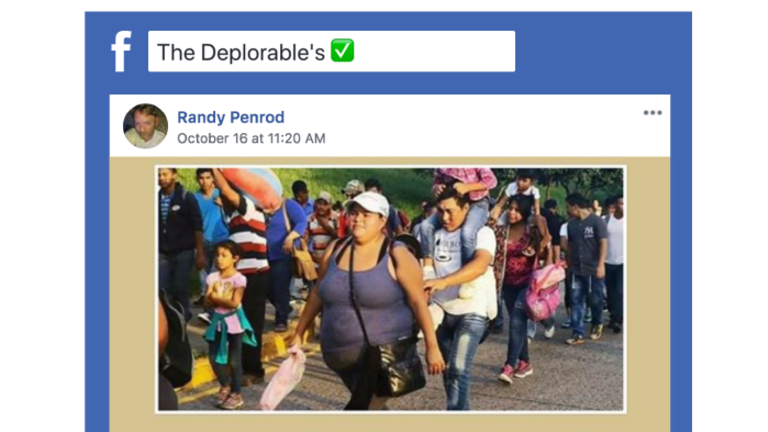 How a lie about George Soros and the migrant caravan multiplied online