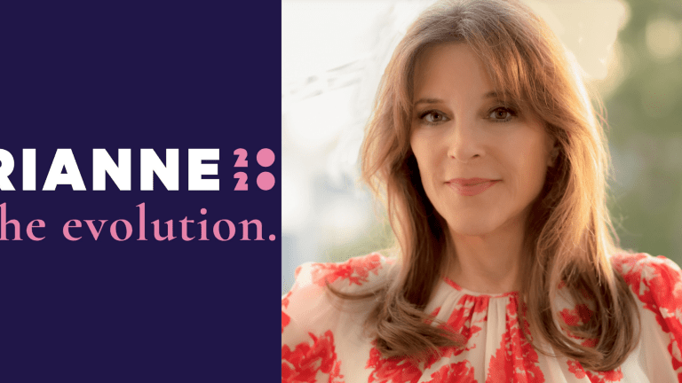 Why Marianne Williamson Needs Your Support Even if You Don't Vote For Her