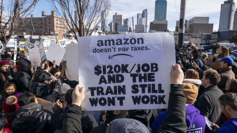 Amazon Pulling Out of NYC is a Win For The People and Community