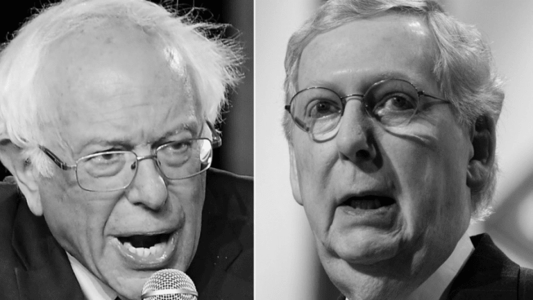 Corporate Media Framing: Trump's GOP is Mainstream, Bernie Sanders is 'Extreme'