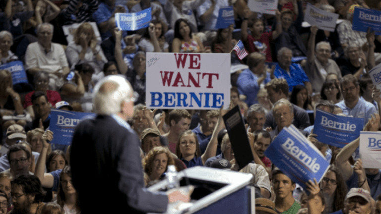 In Just 10 Hours Bernie Sanders Raises $3.3 Mil From 120K Small Donors