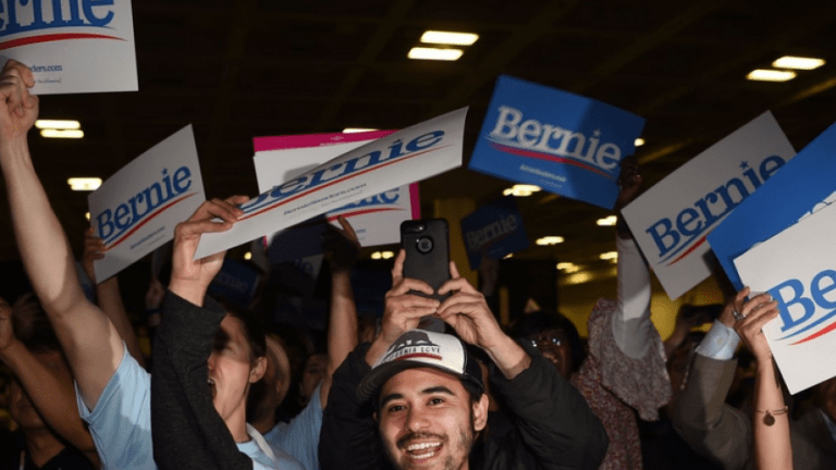 Large Caucus, California Young Democrats, Endorses Bernie Sanders With 67%