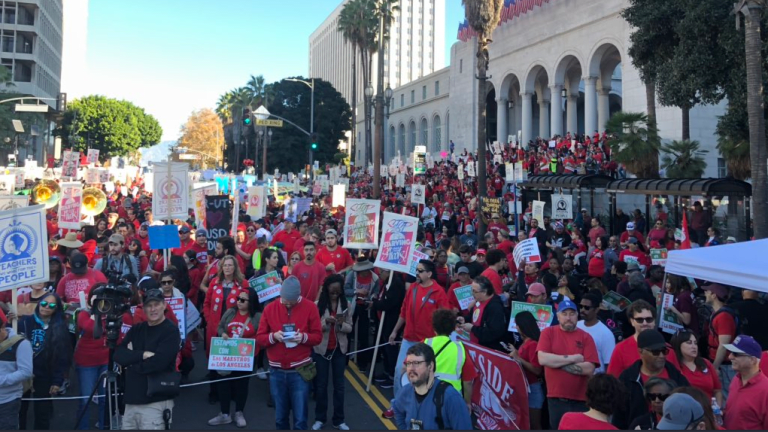 California Teachers Revolting Against Corporate Democrats and Neo-Liberalism