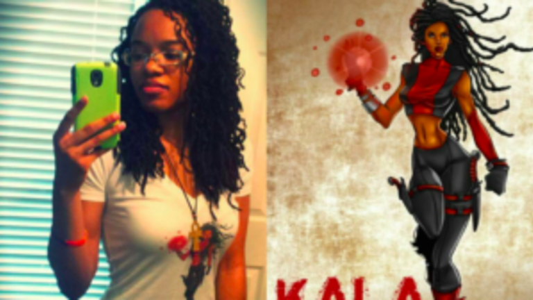 Black Woman Creates Comics Universe Where all the Superheroes are Women of Color