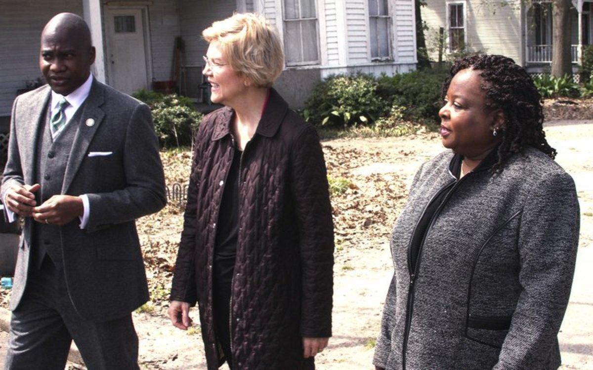 Warren on reparations