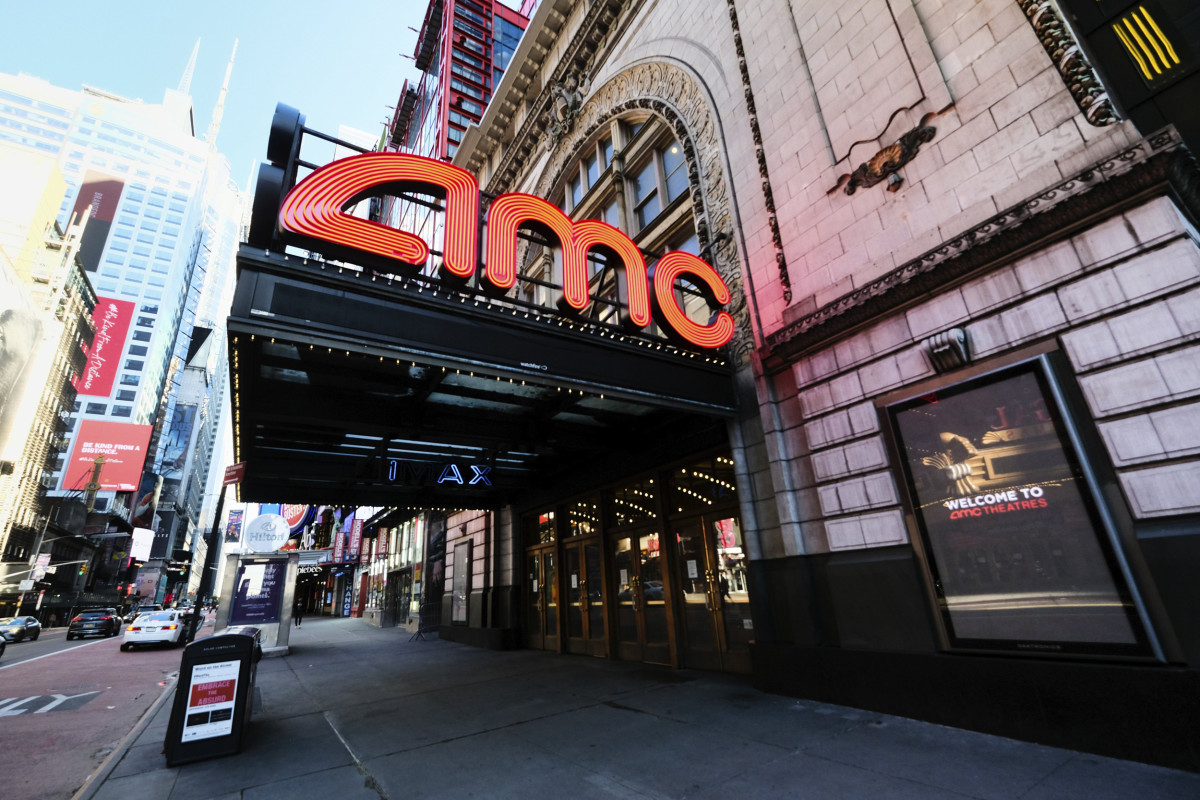 One of many AMC Theaters in the U.S owned by Chinese Corporations.